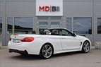BMW 430i Cab 252hk M sport Navi Läder 0kr kontant möjligt