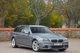 BMW 535d (299hk) Touring M-sport | Navi