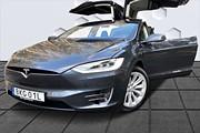 Tesla Model X 90D Dual Fri Supercharger