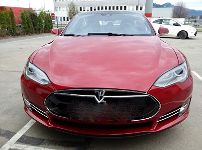 Tesla Model S 85D Dual 525hk Panorama Luftfjädring