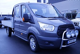 Ford Transit Chassis Double Cab 2.2 4X4 DRAG