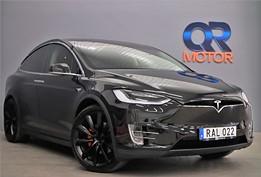 Tesla Model X P90D  / AWD / 6-sits / Performance / S+V Hjul