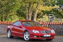 Mercedes-Benz SL 500 / Keyless-Go / ABC-chassi