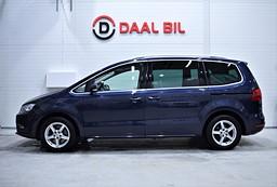VW Sharan 2.0 TDI 140HK 7-SITS KAMERA DRAG SE.UTR!