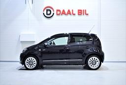 Volkswagen UP! 1.0 75HK NAVIGATOR FULLSERVAD HALVSKINN