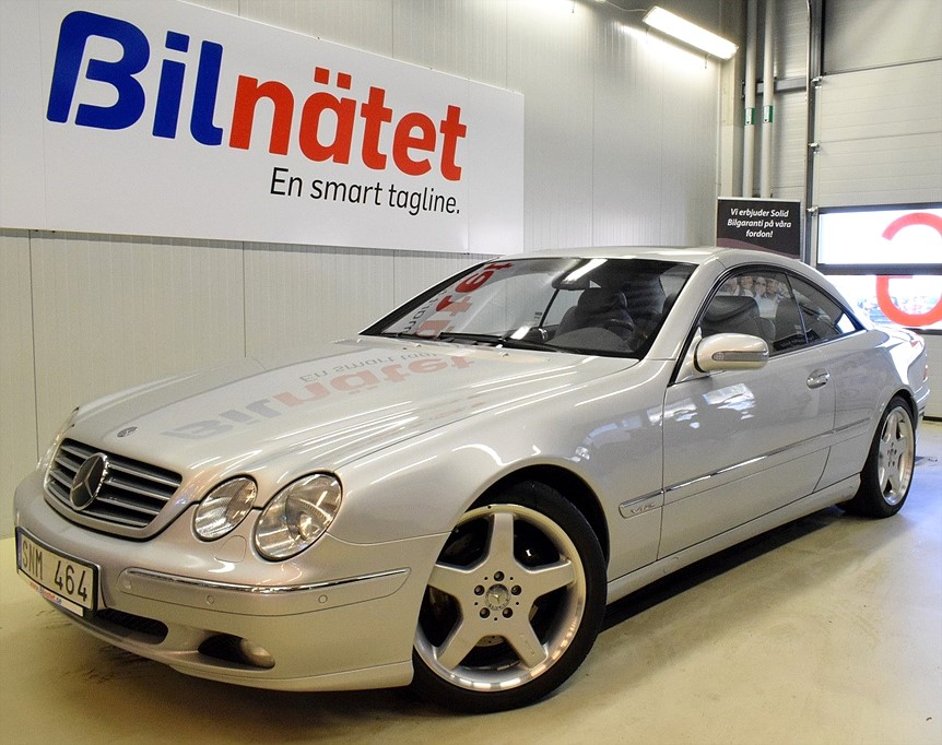 Mercedes-Benz CL 600 5,8L V12 367hk Svensksåld