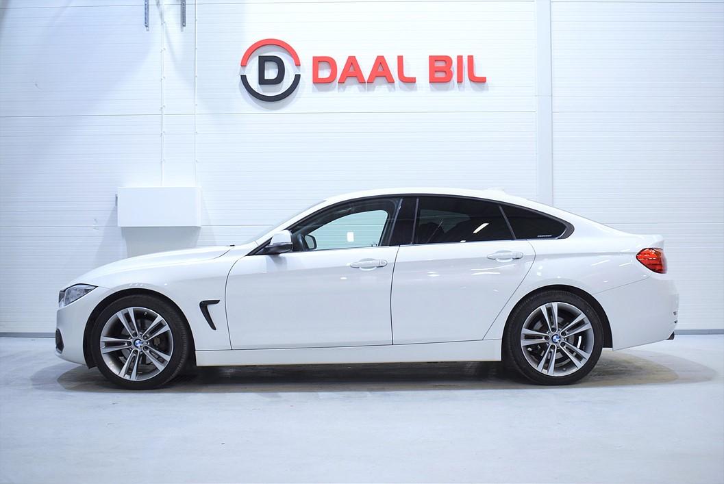 BMW 420D GRAN COUPÉ 184HK SPORT LINTE EURO 6
