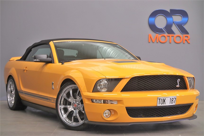 Ford Mustang  Shelby GT500 Convertible 5.4 V8 507hk