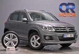 VW Tiguan 2.0 TDI 4M R-line/ D-Värme/ Panorama 140hk