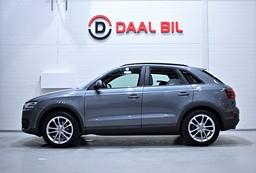 Audi Q3 2.0 TFSI QUATTRO 211HK NAVI DRAG FULL.SERV
