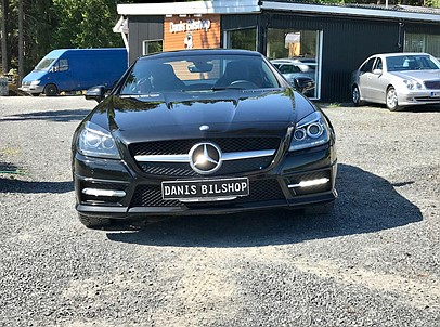 Mercedes Benz SLK 250 CGI 205HK Roadster