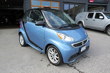 Smart ForTwo Electric Drive 17,6kWh 100% Elbil!
