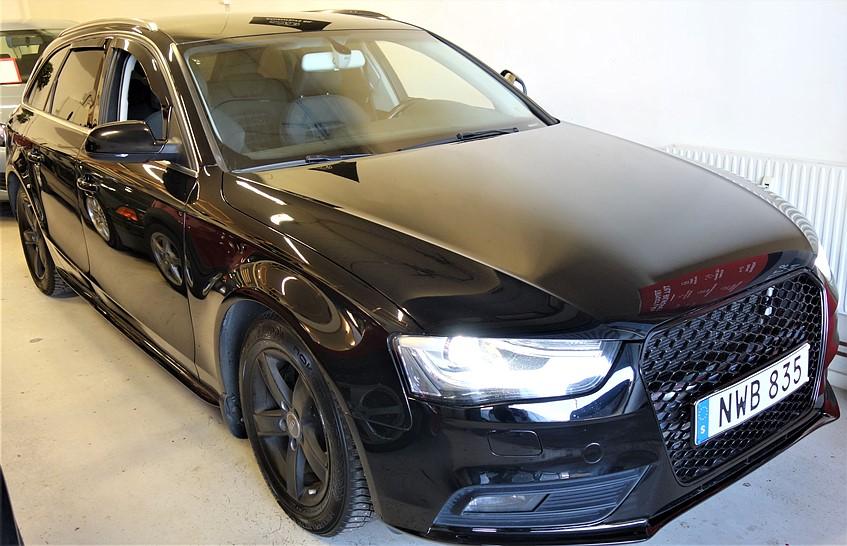 -13 Audi A4 2.0 TDI Launch Edition, Proline Avant 136hk