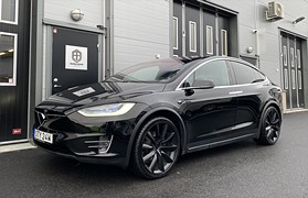 Tesla Model X 75D AWD 6-Sits AP 22""