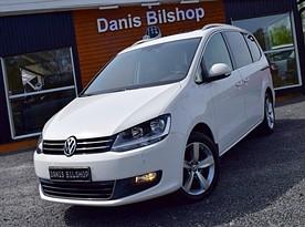 VW SHARAN 2,0 TDI 7-SITS Panorama