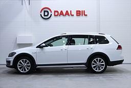 VW Golf ALLTRACK 2.0TDI 4M 184HK DRAG BACKKAM PLUSPKT