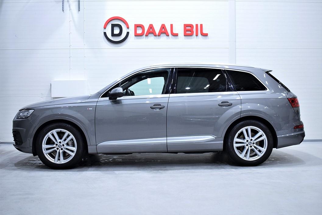Audi Q7 3.0 333HK QUATTRO S-LINE P-VÄRM BOSE
