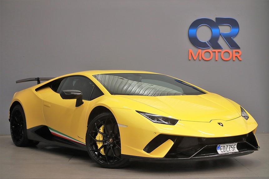 Lamborghini Huracán Performante / Forged Carbon / Lift 640hk