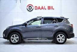Toyota RAV4 2.0 152HK 4WD NAVI BACKKAM FULLSERV. SKINN