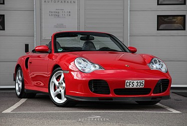Porsche 911/996 3.6 Turbo Cabriolet 420hk