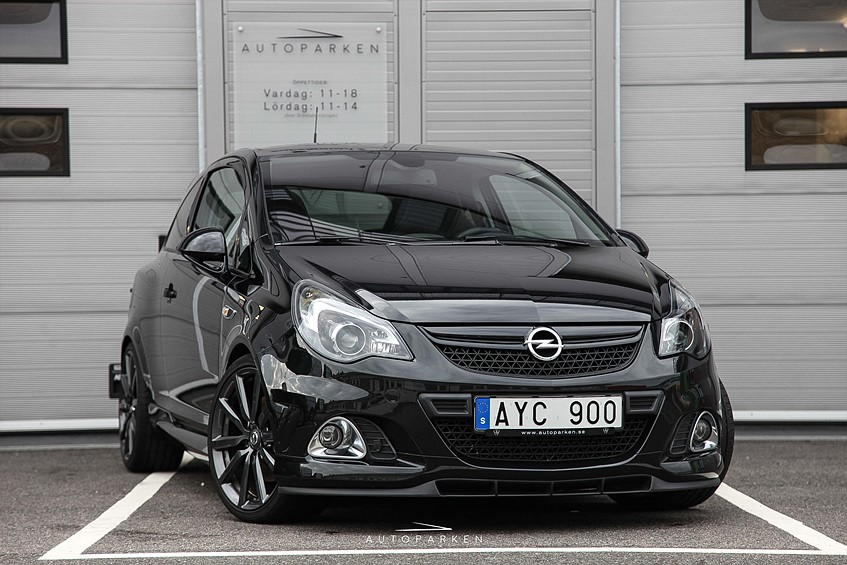 Opel Corsa OPC 1.6T 210hk Nürburgring Edition