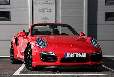 Porsche 911 Turbo S Cabriolet 560hk PDK PDCC