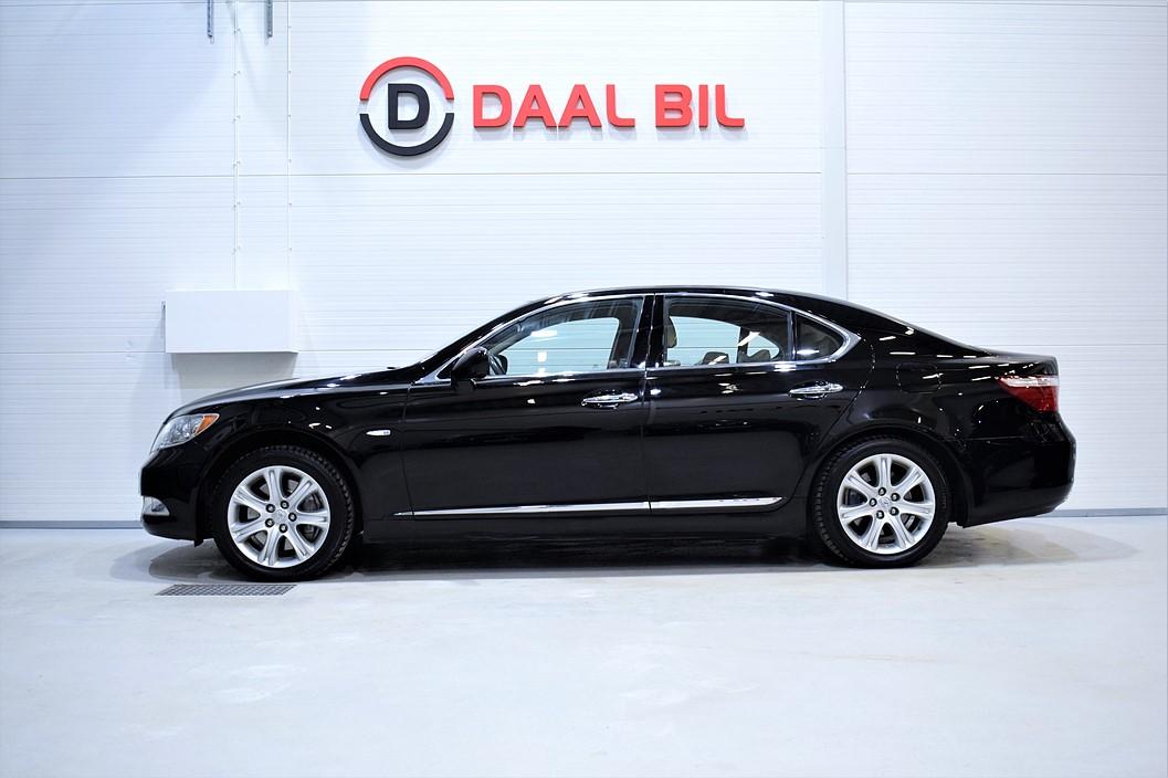 Lexus LS 460 4.6 V8 381HK NAVI BACKKAM SE.UTR!!