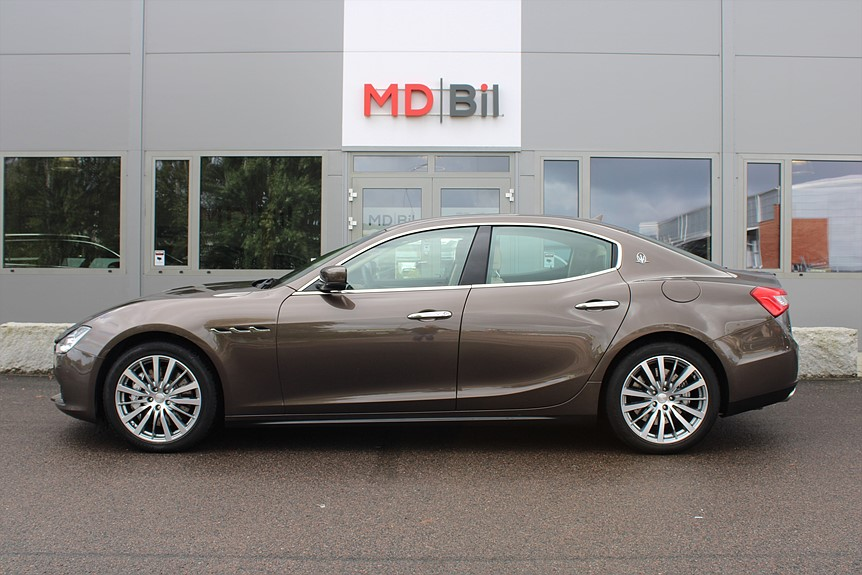 Maserati Ghibli S Q4 (410) Svensksåld