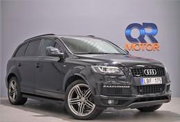 Audi Q7 3.0 TDI V6 S-Line Panorama Dragkrok 7-sits 239hk