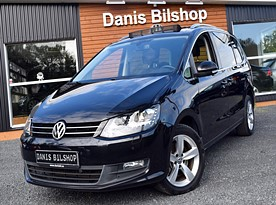 VW Sharan 2.0 TDI (Aut, 7-sits, Backkamera, GPS, Panoramatak)