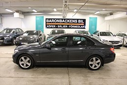 Mercedes C 180 Kompressor BlueEFFICIENCY 5G-Tronic Classic 156hk