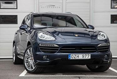 Porsche Cayenne S Fullutr Svensksåld 1-Ägare