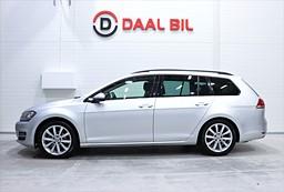 VW Golf VII 1.4 TSI SPORTSCOMBI 1.4 R-LINE 140HK DRAG BACKKAM