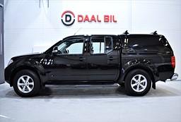 Nissan Navara DOUBLE CAB 4WD 190HK MOMS DRAG NY.SERV