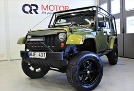 Jeep Wrangler Unlimited 3.8 V6 4WD Automat 199hk Terräng