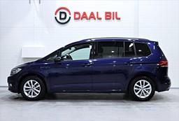 VW Touran 1.4 TSI 150HK PLUS PAKET 7-SITS M-VÄRM