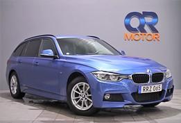 BMW 320d xDrive M Sport / Drag / S+V Hjul / Sportauto / 190hk