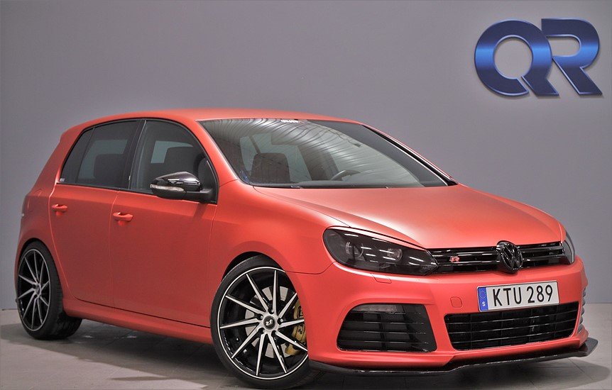VW Golf VI R 5-door R 2.0 4Motion DSG 270hk