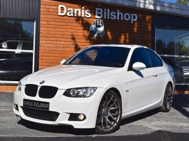 BMW 325d coupe AlpinWeiss