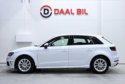 Audi A3 E-TRON 1.4 204HK NAVI KEYLESS 1-ÄGARE PDC EURO 6