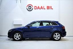 Audi A3 1.6 110HK DRAG BACKKAM P-SEN EURO6 SE.UTR