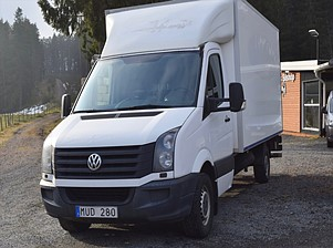 Volkswagen  CRAFTER  VOLUMSKÅP MED LIFT