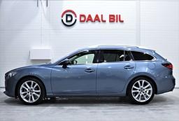 Mazda 6 WAGON 2.2 SKYACTIV-D 175HK MVÄRM BKAM DRAG BOSE® ACC