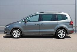 VW Sharan TDI DSG 7 Sits Bilbarnstolar Drag Värmare el-skjutdörrar