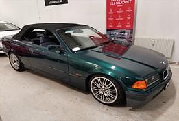 -96 BMW 318i Automat Cabriolet, E36 115hk