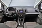 VW Sharan 2.0 TDI DSG 7-sits S/V Hjul D-värme 150hk