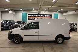 VW Caddy 1.6 TDI 102hk DSG Maxi Skåp Dragkrok