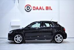 Audi A1 1.4 125HK 1-ÄGARE S-LINE FULLSERVAD MOMS
