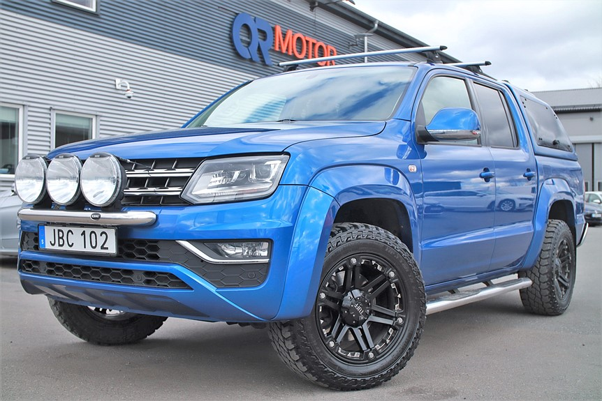 VW Amarok 3.0 V6 4Motion Highline / Kåpa / 225hk