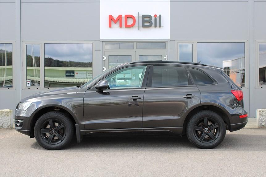 Audi Q5 2,0 TDI 170hk Q Aut Sportpaket Panorama Värmare Alcantara